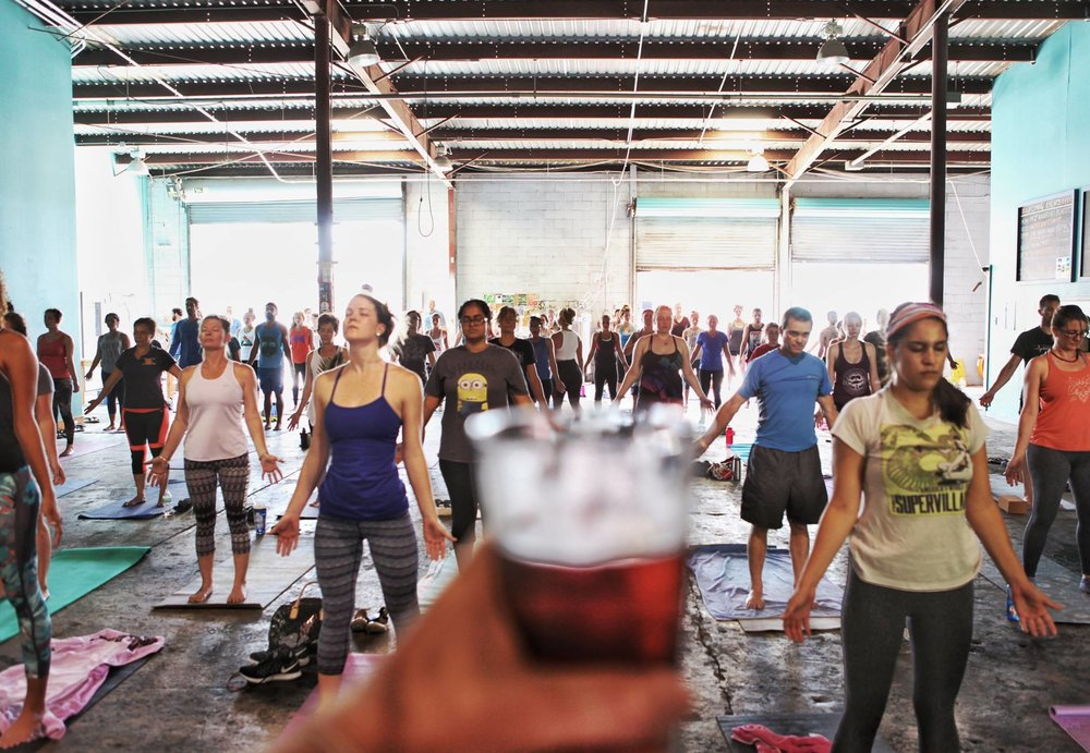 Find out how First Magnitude Brewing Company turned yoga into carbon offsets!