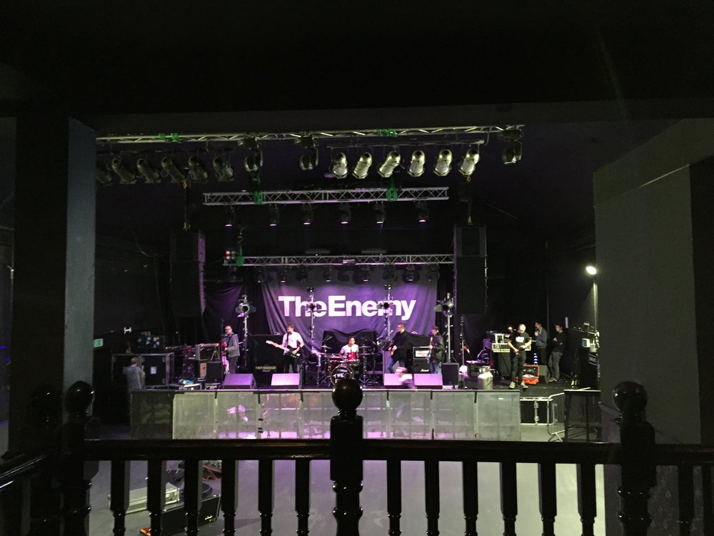 The Ends Soundcheck