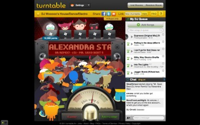 turntable fm screenshot