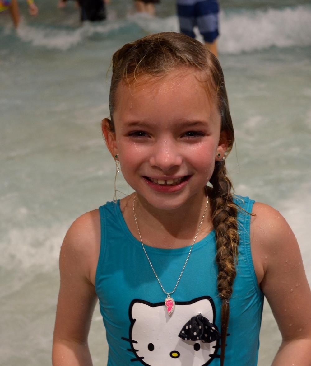 pretty girl swimmer