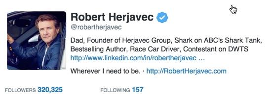 Robert Herjavec Twitter Card