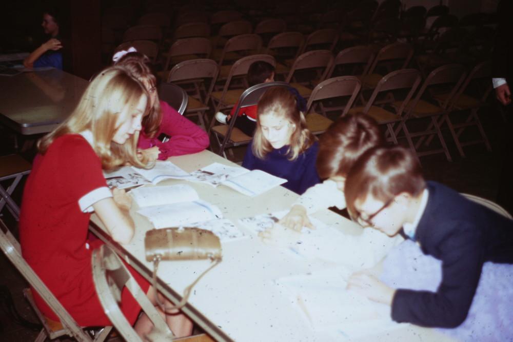 Feb 7, 1971 POP First Worship SS Class.jpg