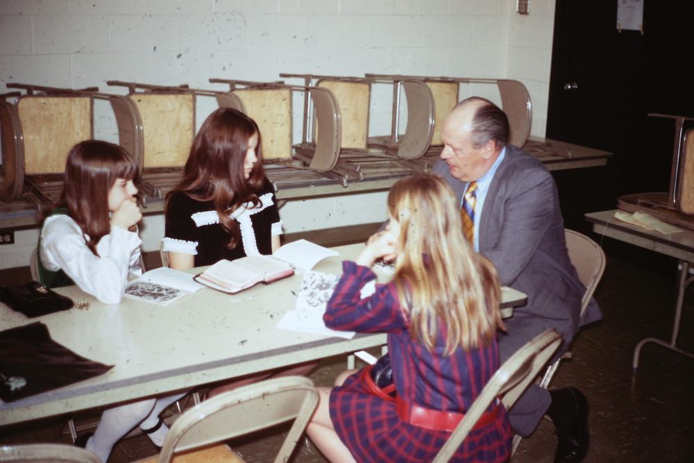 Feb, 7, 1971 POP First Worship-George Hansen SS Class.jpg