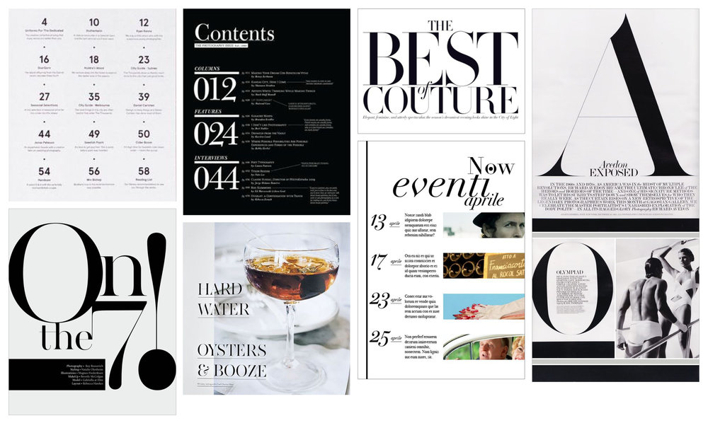 Art direction and typographic inspiration for the Value Sets template.