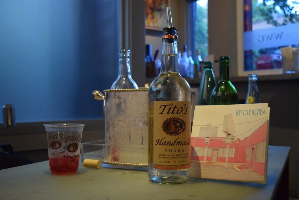 Thanks to our fabulous sponsor, Austin's own Tito's Vodka!