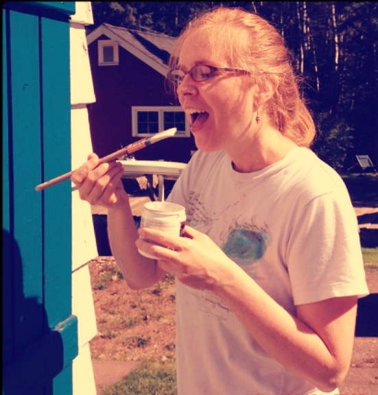 Lead-free, gluten-free, fat-free, sugar-free paint! Yum!