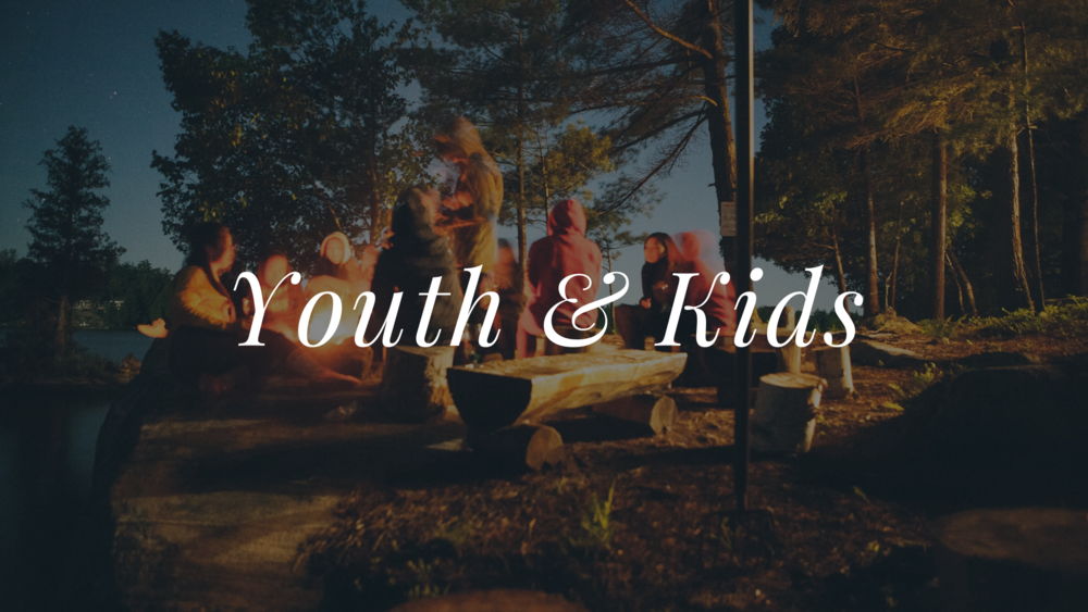 Youth Group photo at Camp Berea