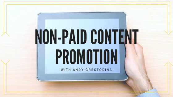 non-paid-content-promotion