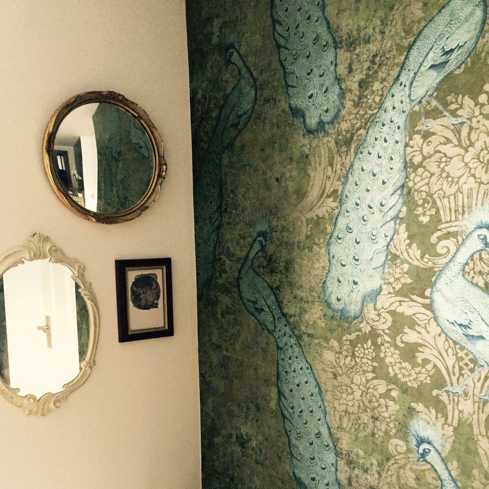 Interior designer brighton, cole & son wallpaper