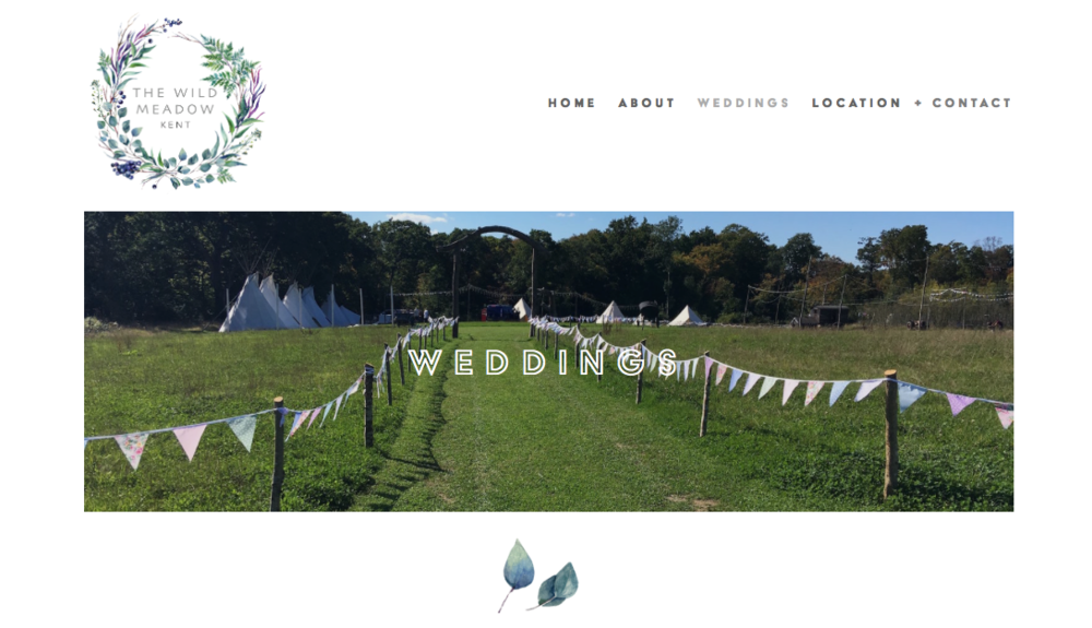 The Wild Meadow | Weddings & Events