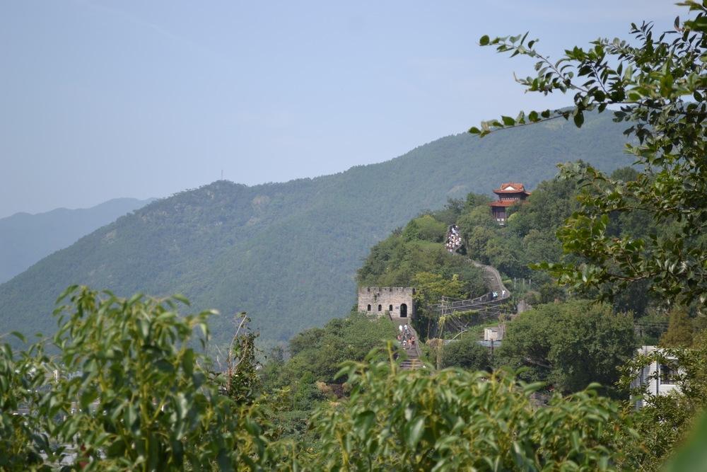 Linhaijiang Southern Great Wall of China in Linhai, Taizhou