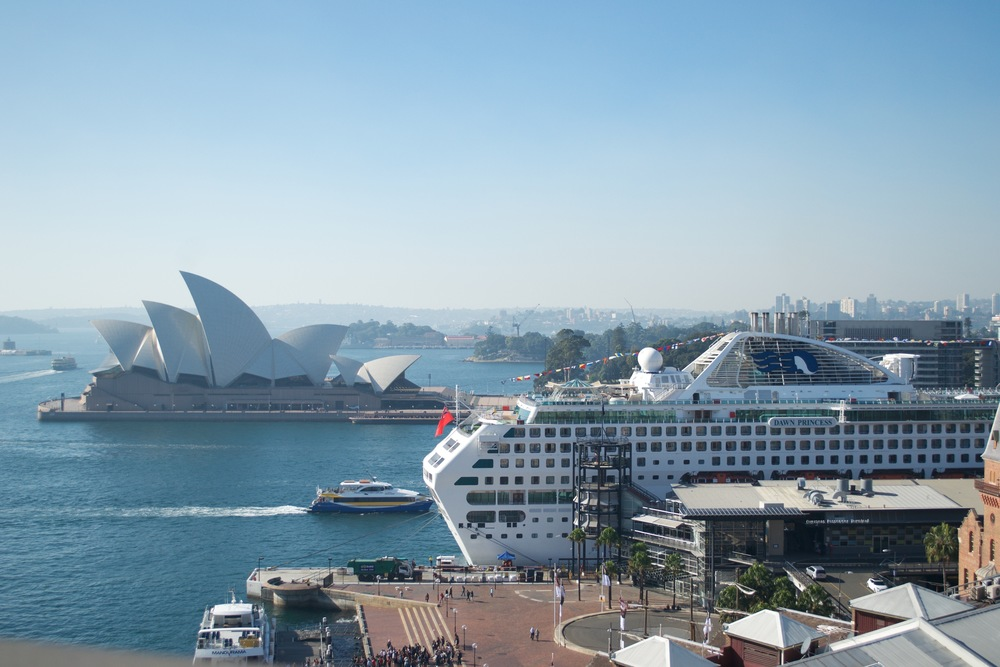 View from the Harbour Bridge