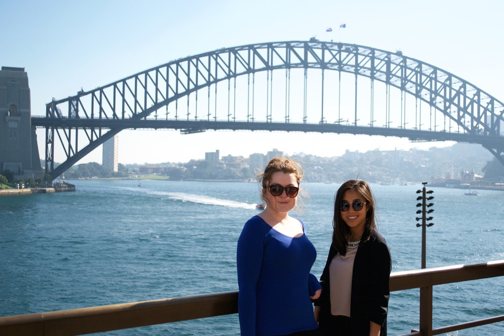 I met Alexandra from England during my time in Sydney