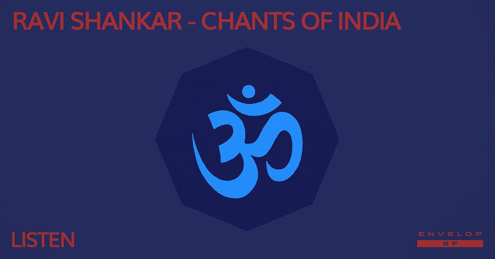 Ravi Shankar - Selected Works : LISTEN   Thu March 21, 2019   At Envelop SF