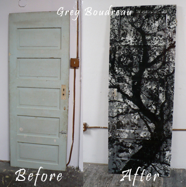 Beau Art Made Fram Salvage Door To Be Auction At June Event