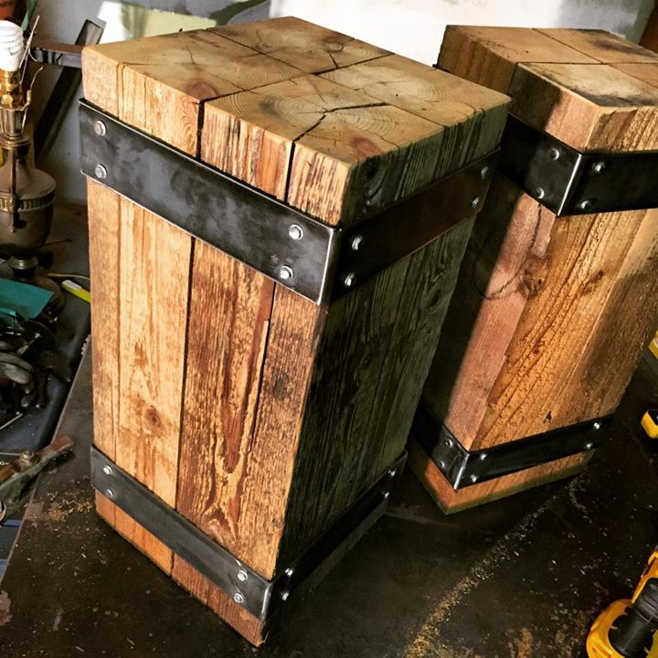 Hand Crafted Reclaimed Furniture From Urban Industrial NW