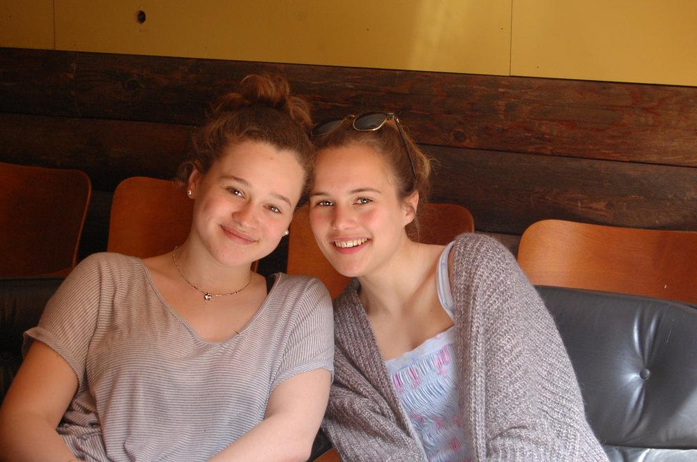 Franca and Vivien