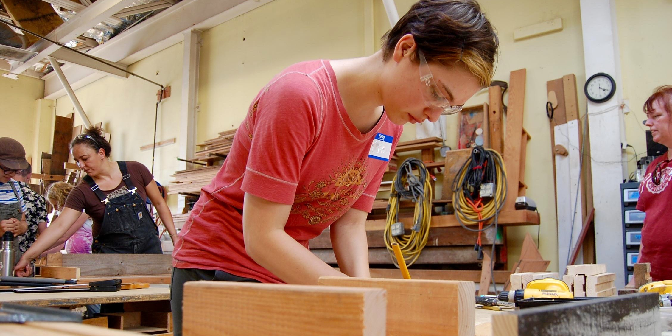 Intro To Carpentry For Women Tables And Benches