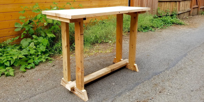 Carpentry classes in portland rebuilding center classes intermediate woodworking trestle table solutioingenieria Choice Image