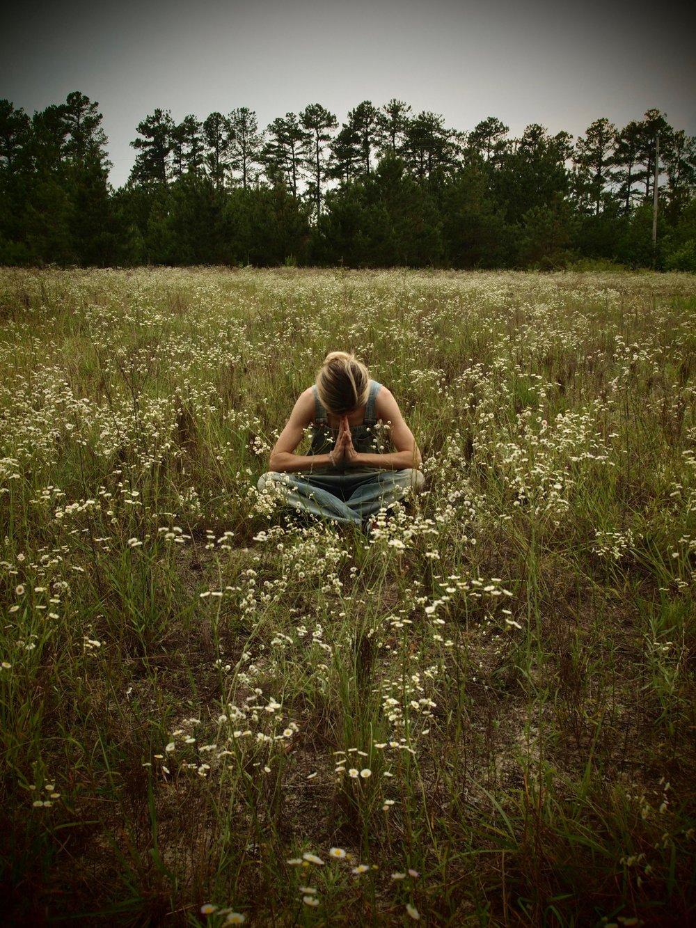 landscape yoga