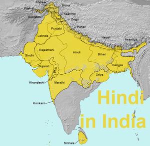 Lionbridge OnDemand Languages From AZ Spotlight On H - Where is hindi spoken in the world