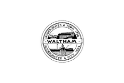 The Waltham city seal.
