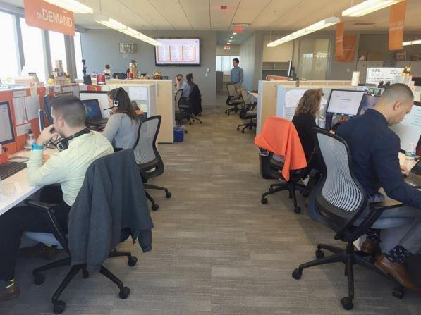 Some of the onDemand reps hard at work last week!