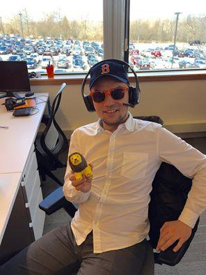 Lukasz, a new Boston Red Sox fan