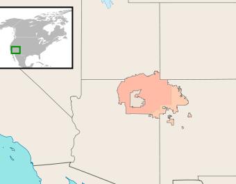 Navajo Nation, where Navajo is spoken