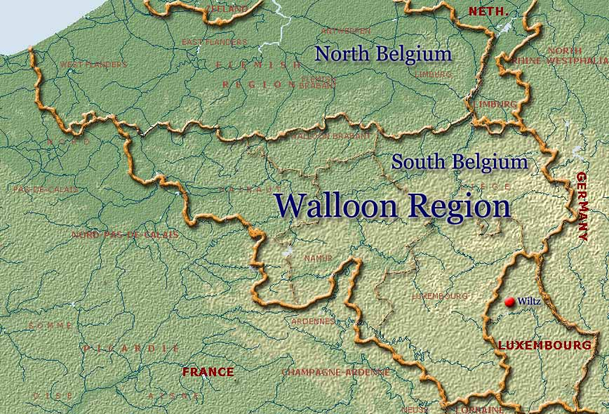 The Walloon Region of Europe, Wallonia