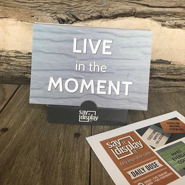 Are you? Link in bio for this daily dose themed collection.. 30 in a deck.. fuel your day.. fuel your month.. #visionboards #meaningfulgifts #visionboard #liveinthemoment #dailyinspiration #dailydose #gratitudeattitude #shopsmall #smallbusiness #quotesandsayings #sayingsandquotes #recycledpaper #gogreen #wanderlust #dfwartist #iphonephotooftheday #iphonephotos #dailywords #dfwart #sayitdisplayit #ownit #ownyourinspiration #greatgift #shopearly
