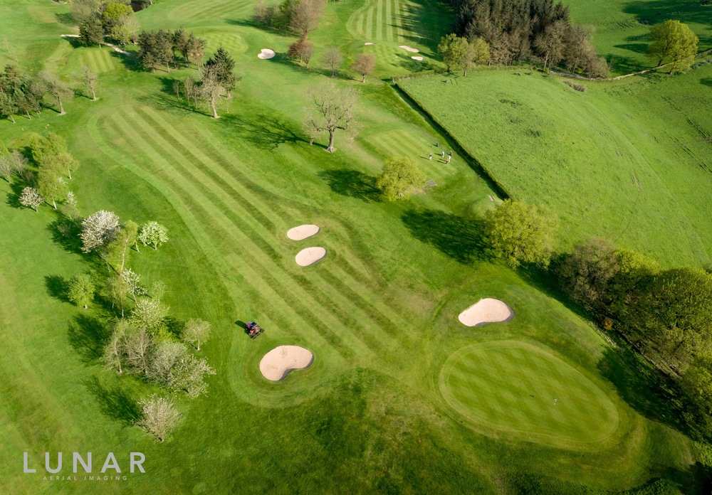 Macclesfield Golf Club, Drone Photograph