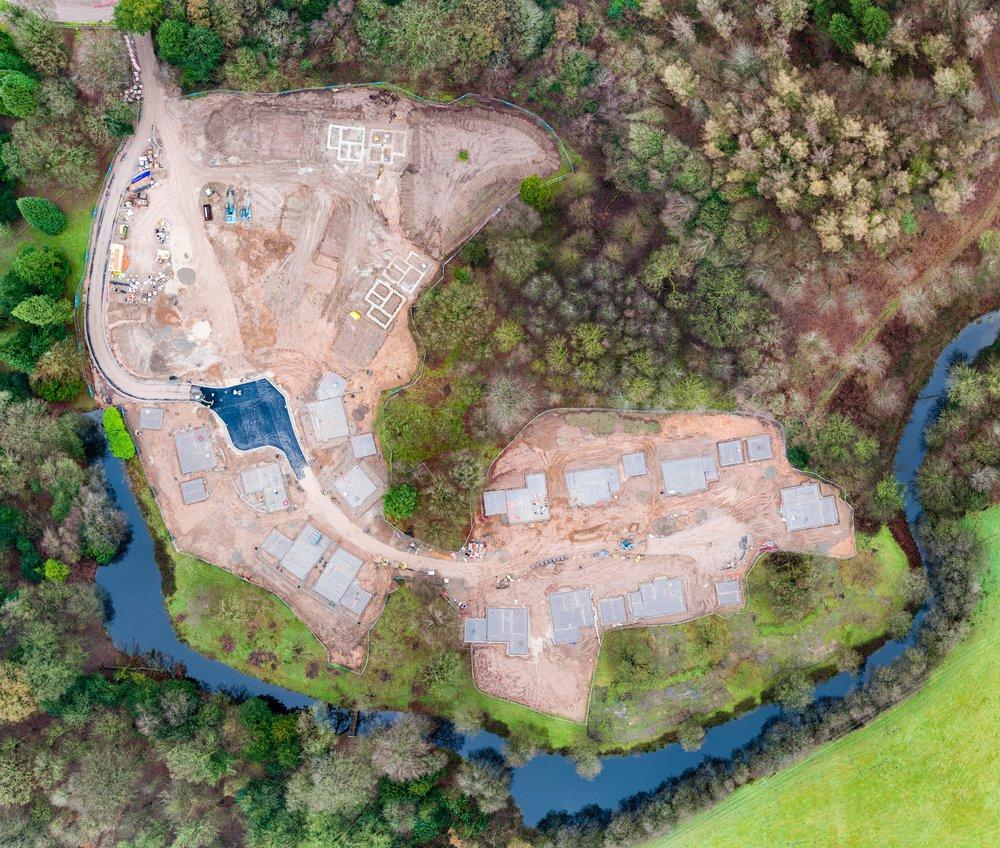 drones civil engineering cheshire