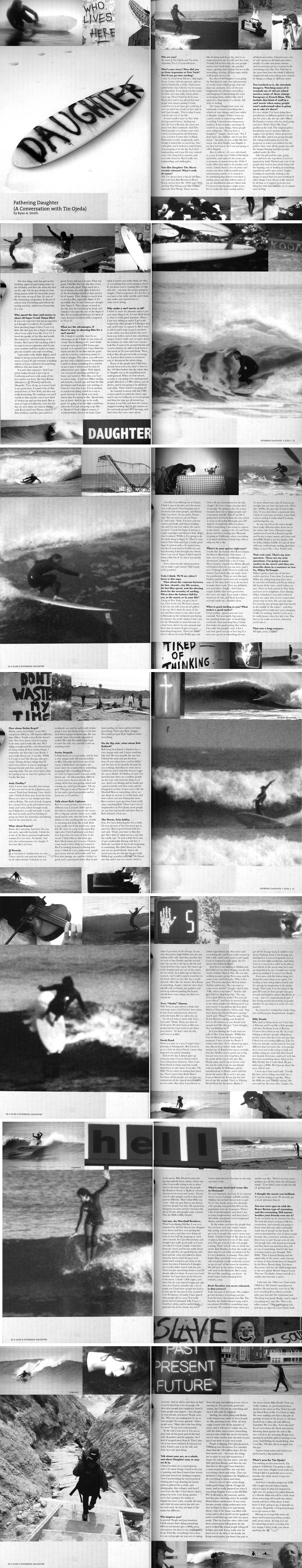 Slide Magazine (NZL) • Issue #47 • Daughter Film Editorial.