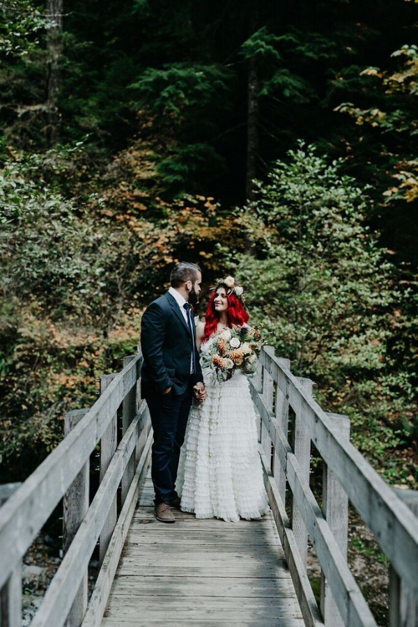 portland wedding florist - foraged floral