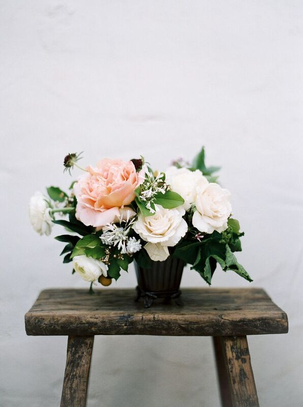 portland florist - foraged floral - spring time wedding in CA