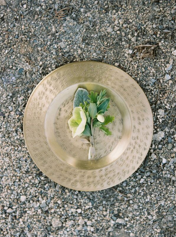 hellebore boutonniere by foraged floral