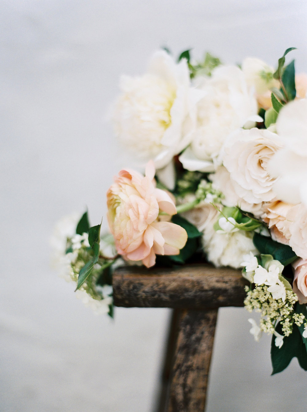 spring wedding flowers white and peach.jpg