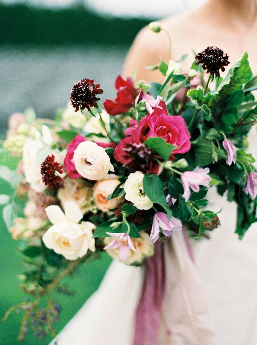 purple pink and white wedding bouquet.JPG