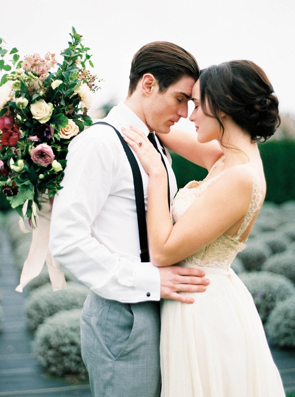 bride and groom portrait in seattle wedding.JPG