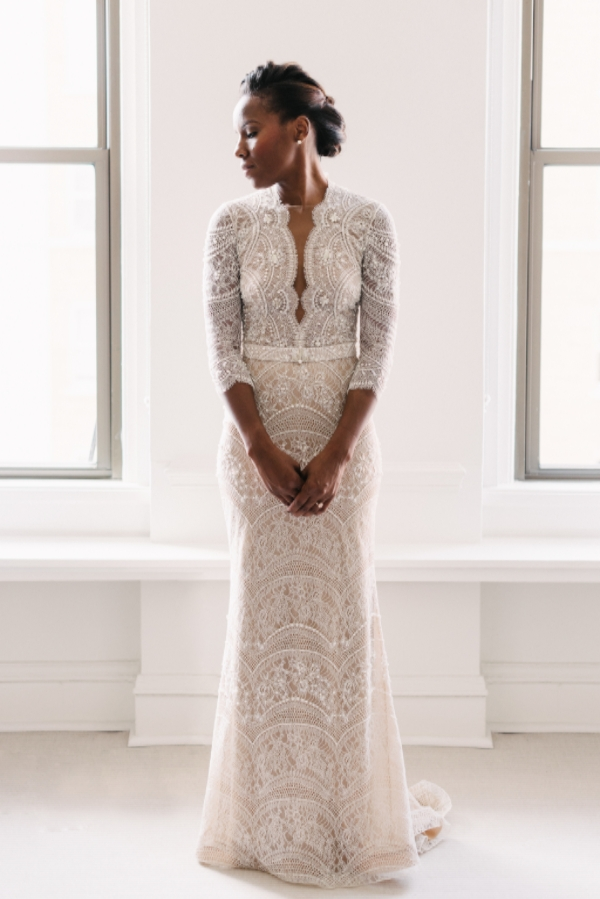 ersa atelier lace wedding gown