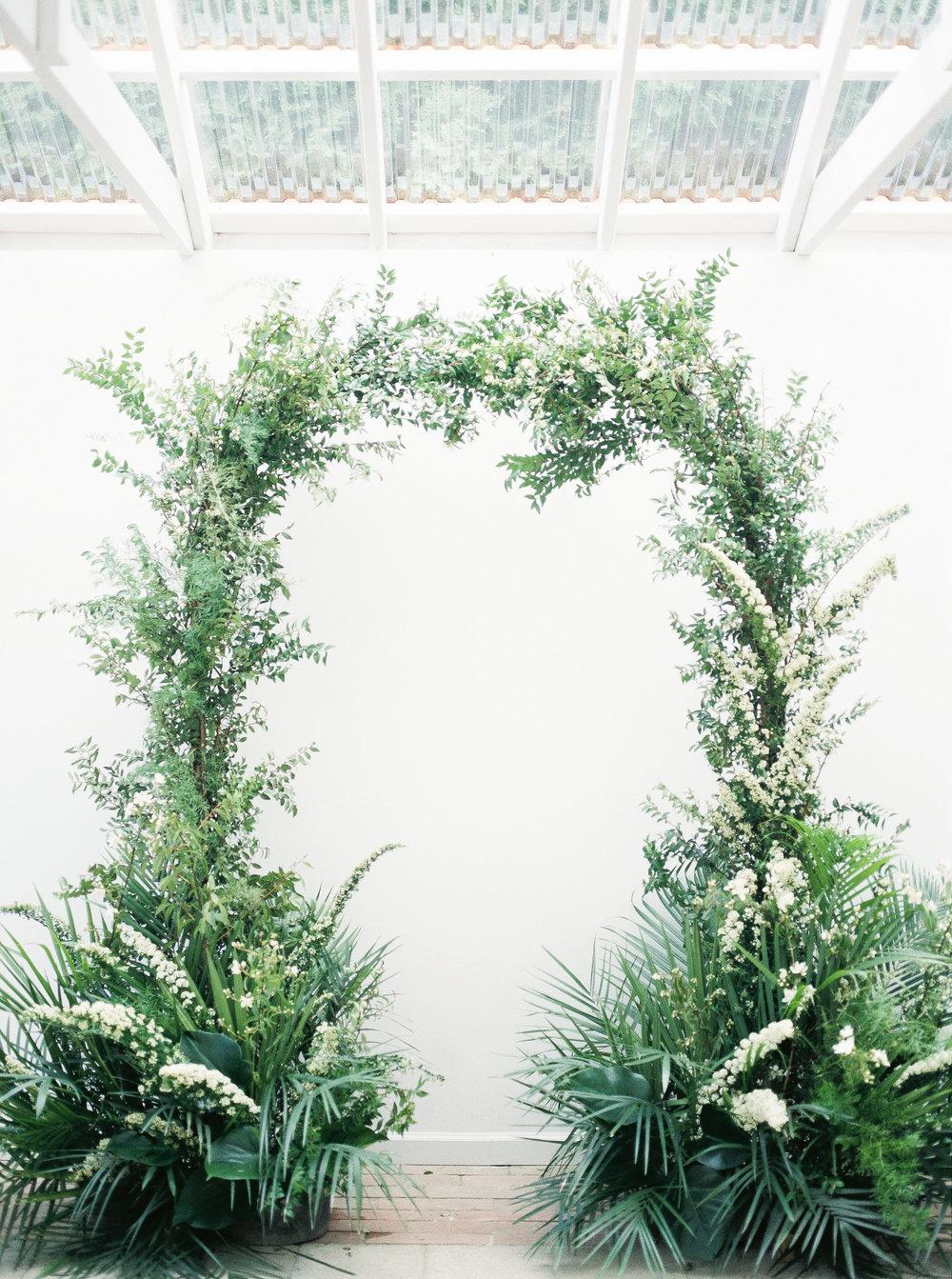 greenery wedding arch for wedding.jpg