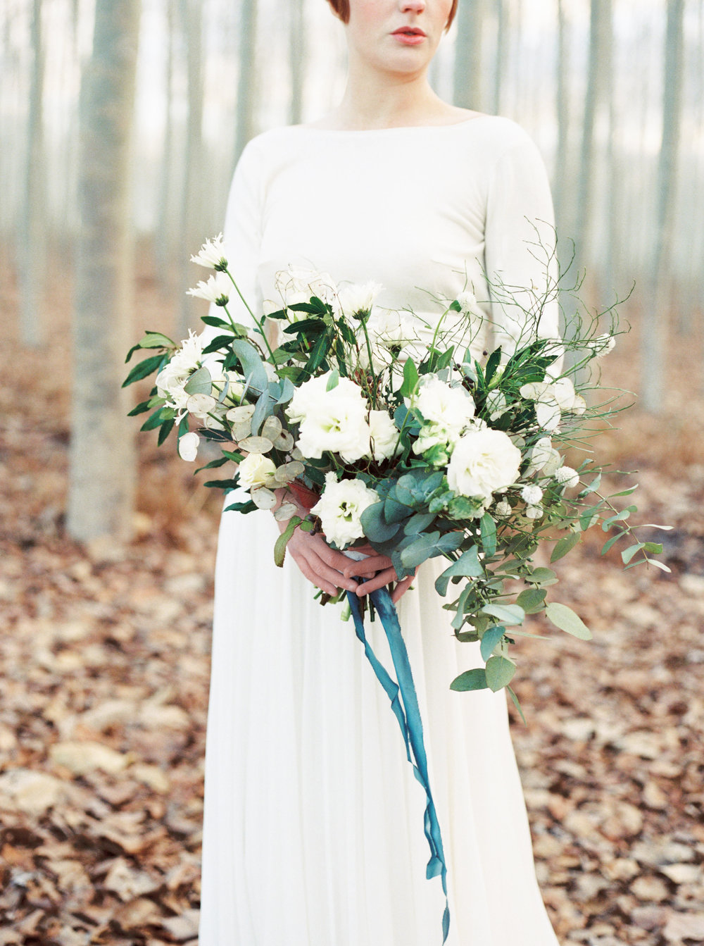 winter texture wedding bouquet with white and green flowers.jpg