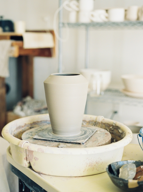 Portland Oregon Wedding Florist, Foraged Floral teams up with ceramic artist.jpg