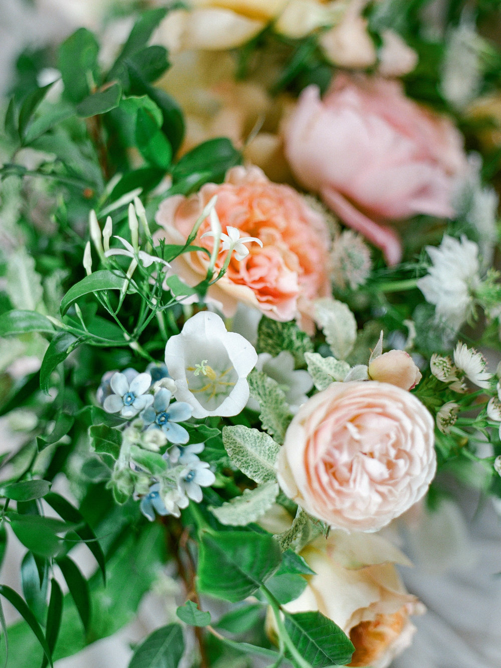 fine art wedding florist, foraged floral, pink, white and peach wedding flowers for france wedding.jpg