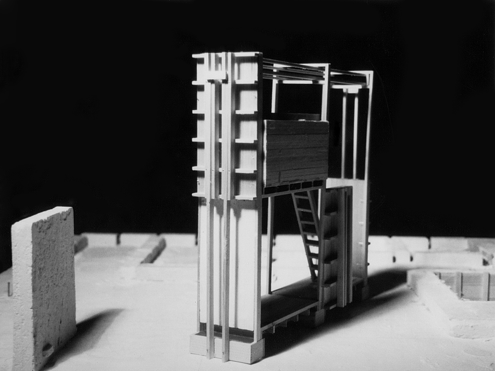 UPenn Integrated Design Thesis: Wood and Plaster Experiment 3. 1992
