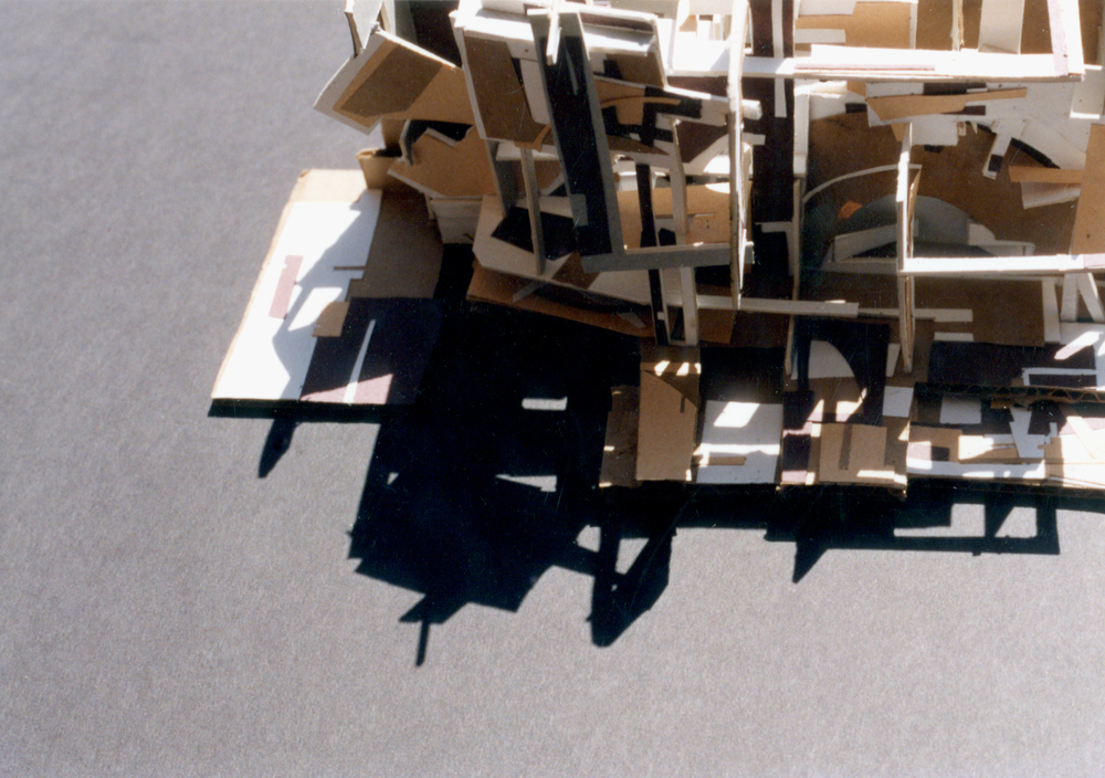 UPenn 3D Study Model: Cardboard. 1991