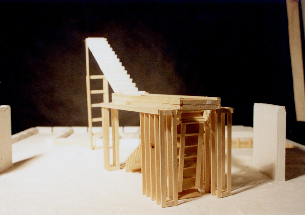 UPenn Integrated Design Thesis: Wood and Plaster Experiment 4. 1992