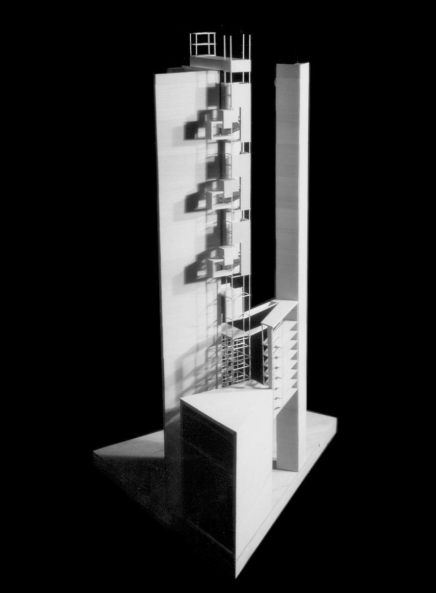 UPenn Film School Model: Balsa. 1991