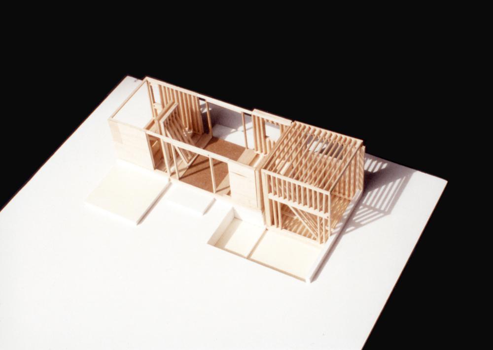 UPenn: Prefab Housing Experiment. Balsa. 1991